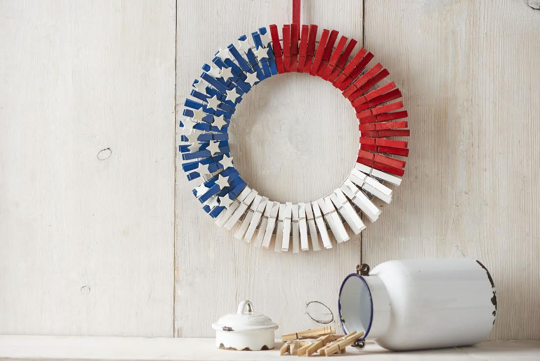 Laundry Room Door Wreath