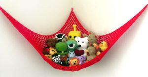 Crochet Hammock for Stuffed Animals