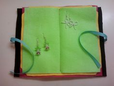 Earring Book Holder