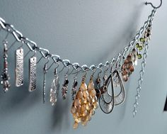 Earring Holder Chain for Heavy Earrings