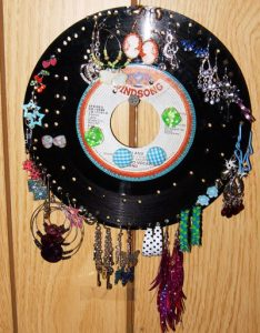 Record Earring Holder