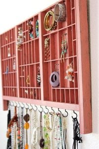 Earring Rack Holder