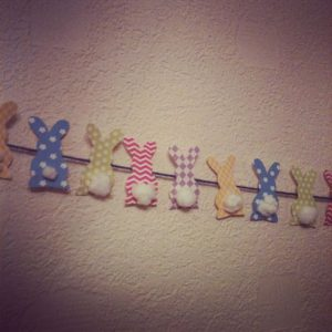 Easter Bunting Banner