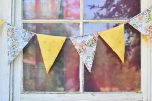 Fabric Bunting Banner