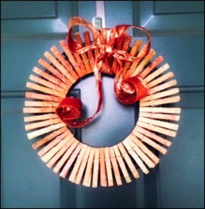 Fall Clothespin Wreath