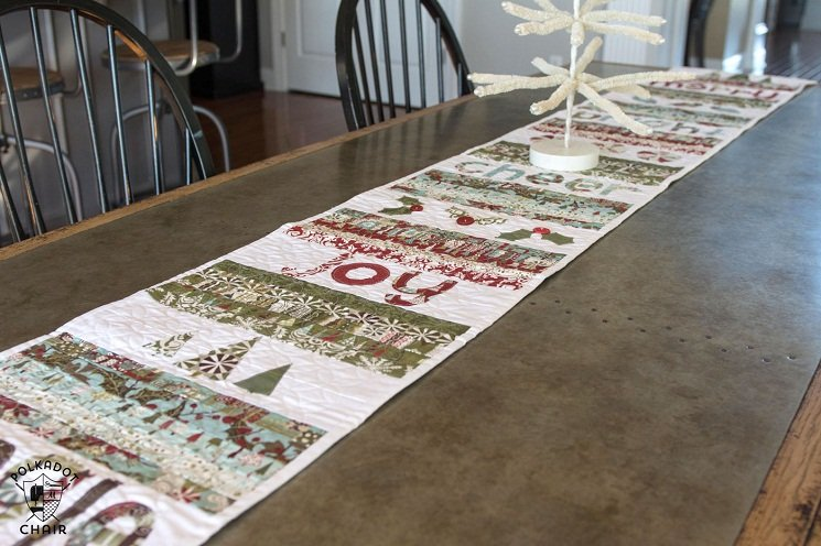 free easy quilted table runner patterns