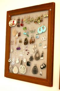 Handmade Earring Holder