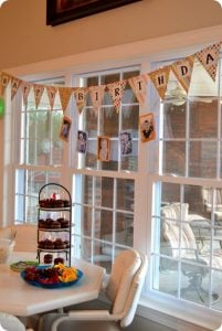 Happy Birthday Bunting Banner