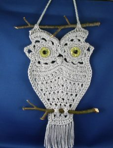 How to Macrame an Owl