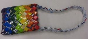 How to Make Candy Wrapper Purse