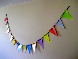 How to Make a Bunting Banner
