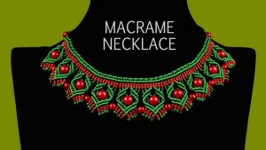 Macramé Necklace Instructions