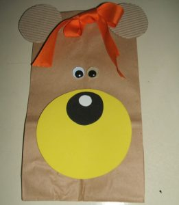Paper Bag Puppet Idea