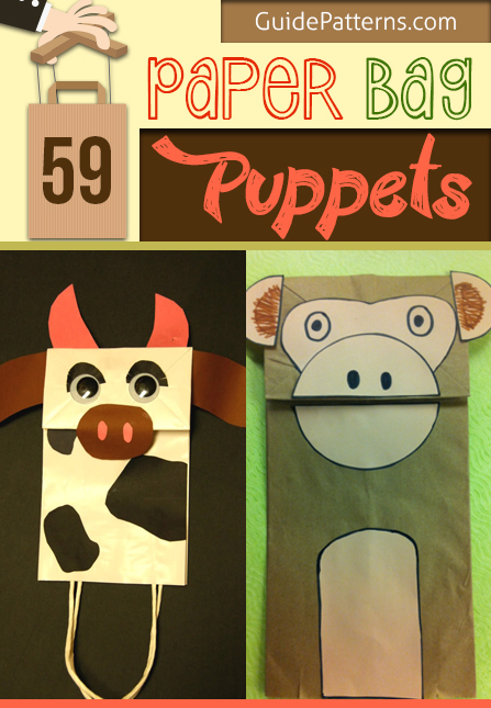 Paper Bag Donkeys - Donkey Crafts for Kids - Mess for Less | 645x447