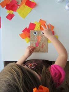 Paper Bag Turkey Puppet