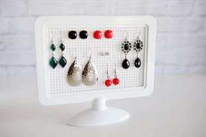 Plastic Earring Holder