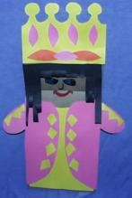 Princess Paper Bag Puppet