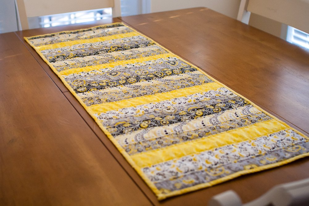 Quilted Table Runner Picture