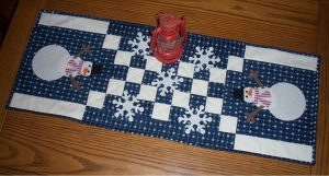 Quilted Winter Table Runners