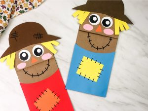 Scarecrow Paper Bag Puppet