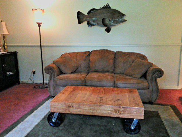 Warehouse Cart Coffee Table
