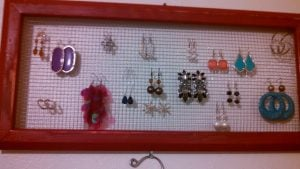 Wire Earring Holder