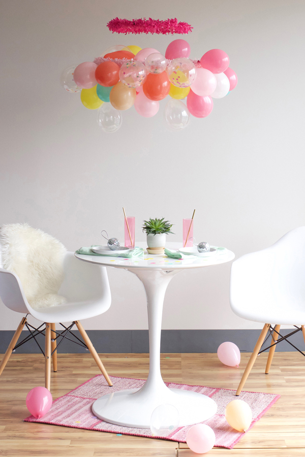 9 decorative balloon chandelier ideas guide patterns balloon chandelier tutorial aloadofball Image collections