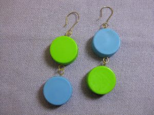 Blank Bottle Cap Earrings