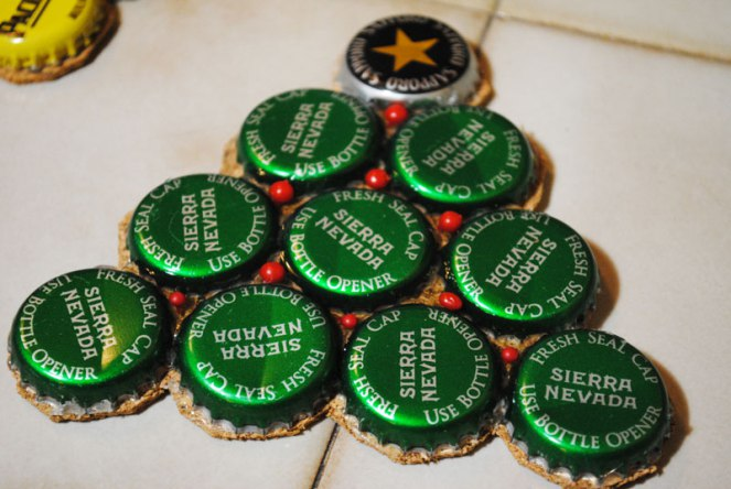 15 bottle cap coasters making ideas guide patterns for How to make a table out of bottle caps