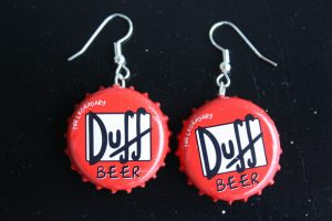 Bottle Cap Earrings