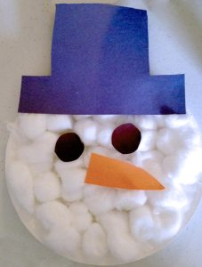Christmas Paper Plate Snowman Face Craft & 21 Easy Paper Plate Snowman Ideas For Your Kids | Guide Patterns