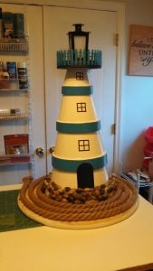 Clay Pot Lighthouse Design