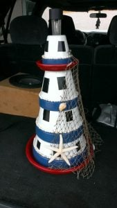 Clay Pot Lighthouse Tutorial