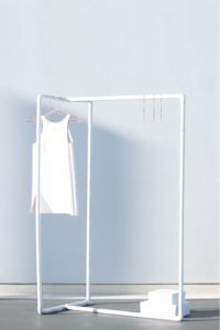 Corner Pipe Clothing Rack