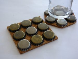 DIY Bottle Cap Coasters