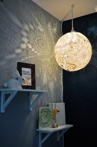 Doily Lamp Project