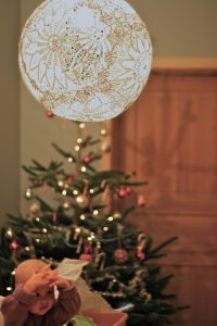 Doily Lamp Picture
