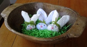 How to Make Washcloth Bunnies