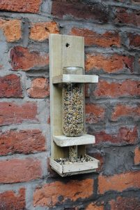 How to Make a Wine Bottle Bird Feeder