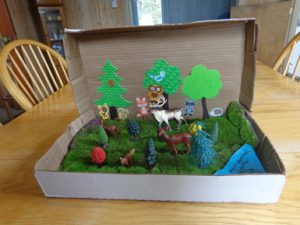 Jungle Diorama Shoebox