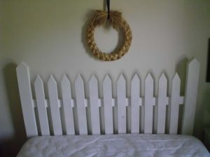 King Size Picket Fence Headboard