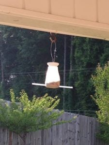 McDonald's Milk Jug Bird Feeder