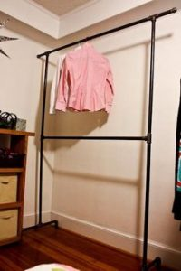 Metal Pipe Clothes Rack
