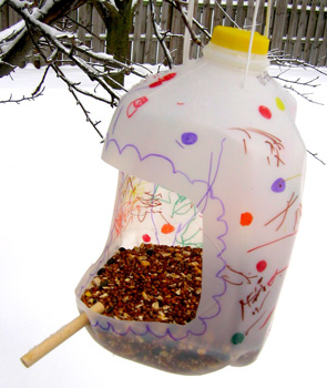 Cool How To Make Egg Carton Bird Feeder