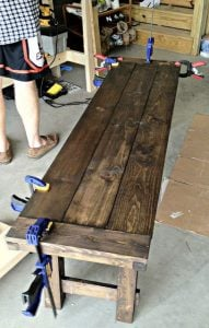 Pallet Dining Bench