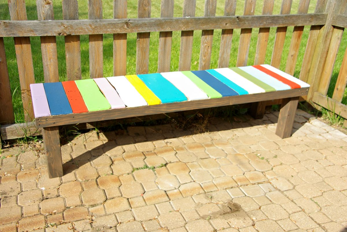 Pallet Furniture Bench Part 77