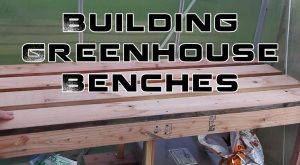Pallet Greenhouse Bench