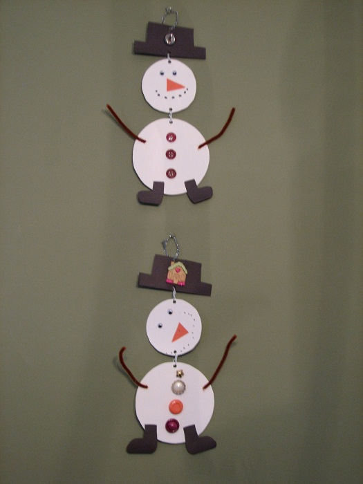 Paper Plate Snowman Mobile & 21 Easy Paper Plate Snowman Ideas For Your Kids | Guide Patterns