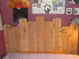 Picket Fence Headboard Plan