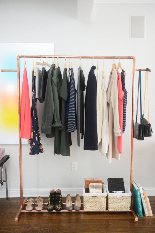 How To Make A Coat Rack Stand